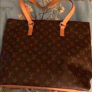Louis Vuitton shoulder bag Cabas Piano bag.
